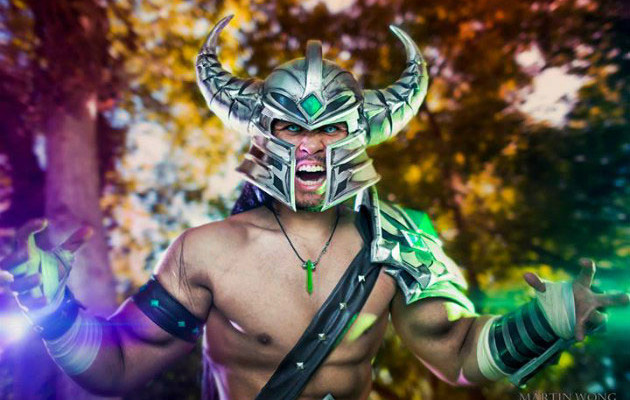 Junkers Cosplay Inc as Tryndamere from League of Legends