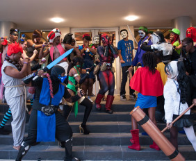AnimeKon Group Cosplay